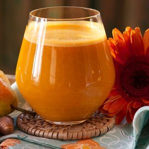 Orange juice named Turmeric Sunrise
