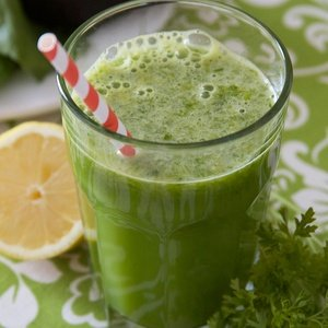 Green juice named Green Cheer