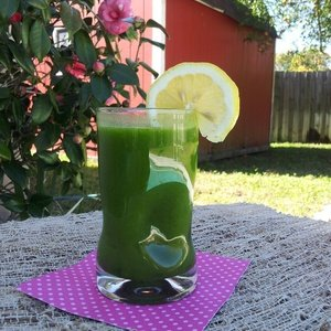 Green juice named Green Breakfast