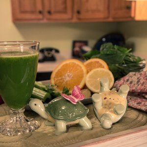 Green juice named Beginner Green