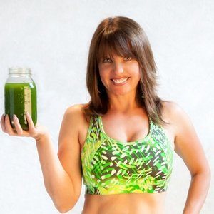 Green juice named Tracee's Green Workout Juice
