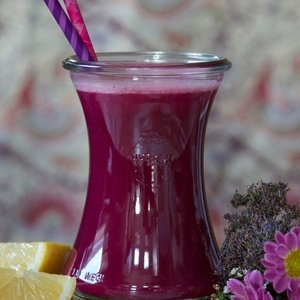 Purple juice named Dragon Blood