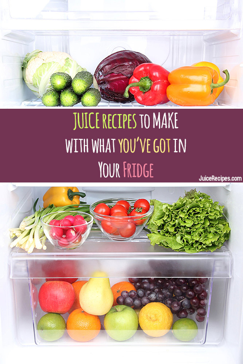 Juicing Ingredients What S In Your Kitchen